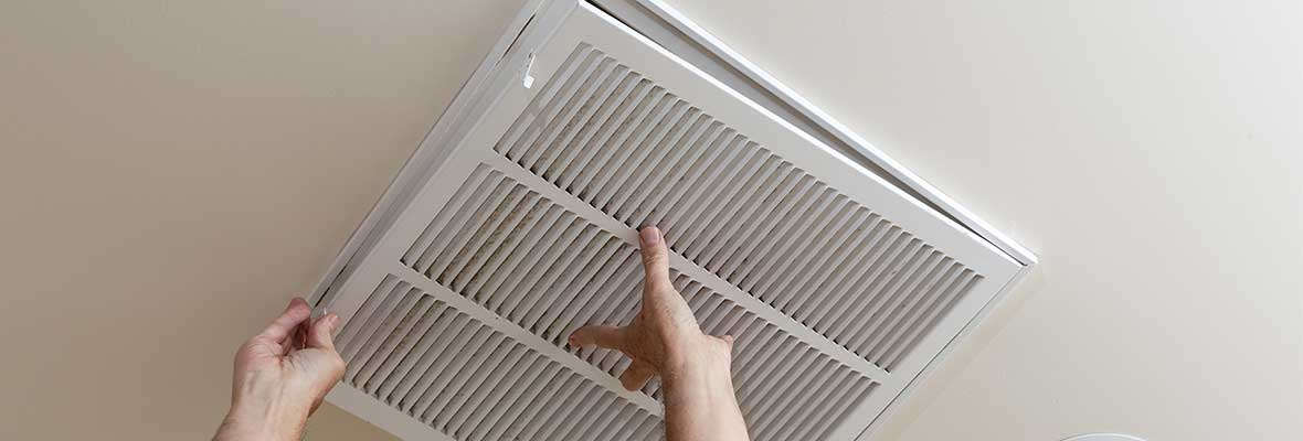 Changing Air filters as preventative maintenance